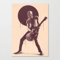 Face Melting Canvas Print