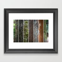 Mix Arboreo Framed Art Print