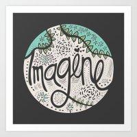 Imagine Nature II Art Print