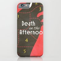 iPhone & iPod Case featuring Death in the Afternoon, Erenst Hemingway - Book Cover by Stefanoreves