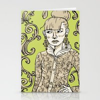 Baroque  Stationery Cards
