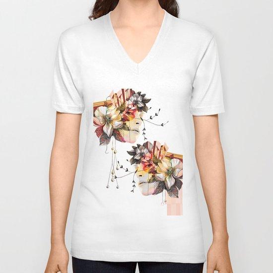 Double Vision 2 V-neck T-shirt