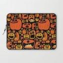 Pumpkin Pattern Laptop Sleeve