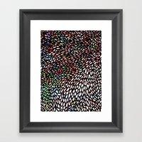 Shallcrass Coloured Pattern Framed Art Print