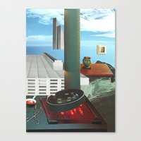 The City As Home 3 Canvas Print
