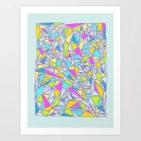 Abstract #001 Art Print