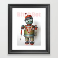 BitchBot Framed Art Print