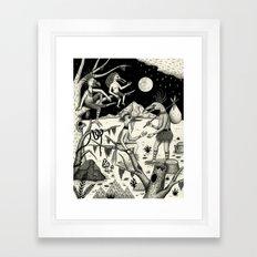 Welcomed Into the Fold By Other Strange Birds Framed Art Print