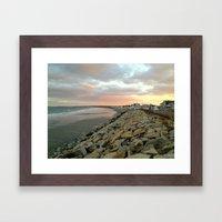 The Beach 1 Framed Art Print