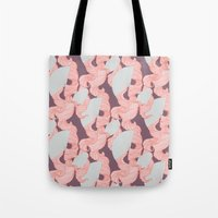 Spotted Fan & Trailing H… Tote Bag