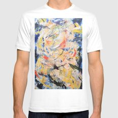 Tower Mens Fitted Tee White SMALL