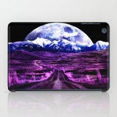 Highway to Eternity (moon mountain) Fuchsia iPad Case