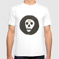 thirteen Mens Fitted Tee White SMALL