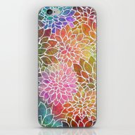 Floral Abstract 6 iPhone & iPod Skin