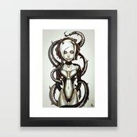 The Flower of Carnage Framed Art Print