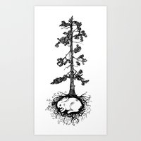 Great Pine Art Print
