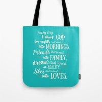 Thank God, Inspirational… Tote Bag
