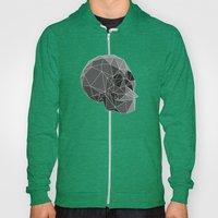 Geometric skulls Hoody