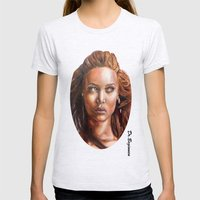 A BLACK BEAUTY     By Da… Womens Fitted Tee Ash Grey SMALL
