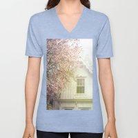 Cottage and Magnolias Unisex V-Neck