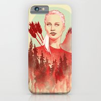 iPhone & iPod Case featuring The Games by Katie Sanvick
