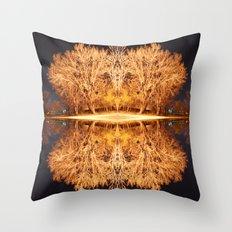 Quad Tree #5 Throw Pillow