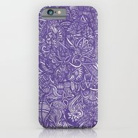 iPhone & iPod Case featuring blue by Rinneko