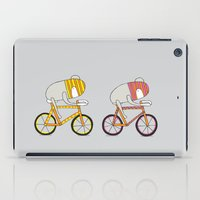 Ride more bikes iPad Case