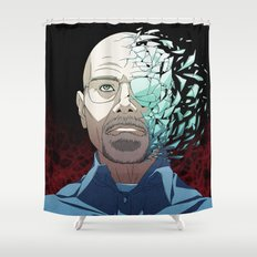 Ozymandias (Walter White - Breaking Bad) Shower Curtain