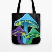 Alice's Shrooms - Dark Tote Bag