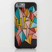iPhone & iPod Case featuring HEY by Josh LaFayette