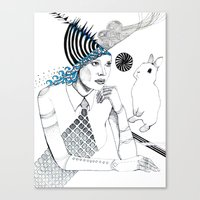 Mysterious Spin Canvas Print