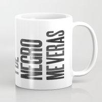 Voy De Negro — Letterp… Mug