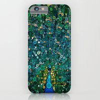 iPhone & iPod Case featuring :: Peacock Caper :: by :: GaleStorm Artworks ::