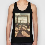 Empty Frame Unisex Tank Top