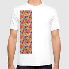 Howl White Mens Fitted Tee SMALL
