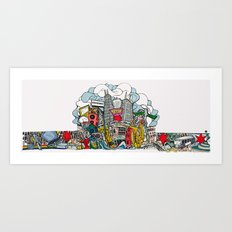 Chicago Made Art Print