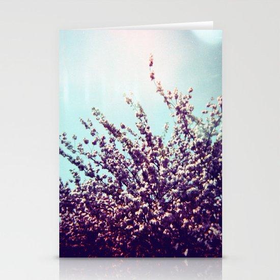 Holga Flowers II Stationery Card