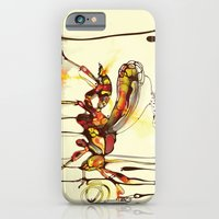 iPhone & iPod Case featuring Wasp by shadow chen