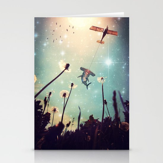 Flying Lessons Stationery Card