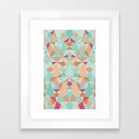 Simply  Framed Art Print