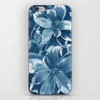 My blue leaves iPhone & iPod Skin