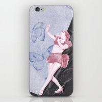 Butterfly Dancer iPhone & iPod Skin