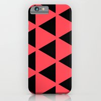 Sleyer Black on Pink Pattern iPhone 6 Slim Case