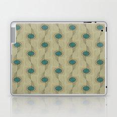 Turquoise Circles Pattern Modern Abstract Laptop & iPad Skin