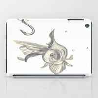 Fishing In The Fish Tank iPad Case