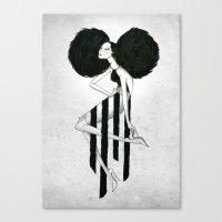 Killer Pose Canvas Print