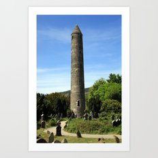 Round Tower Art Print