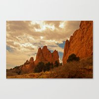 In Gods' Heaven Canvas Print