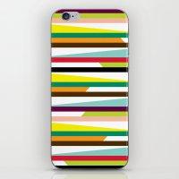 Irregular stripes #1 iPhone & iPod Skin